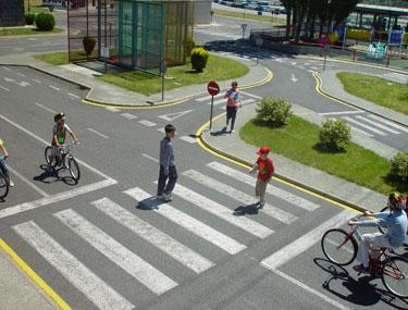 paso de peatones educacion vial