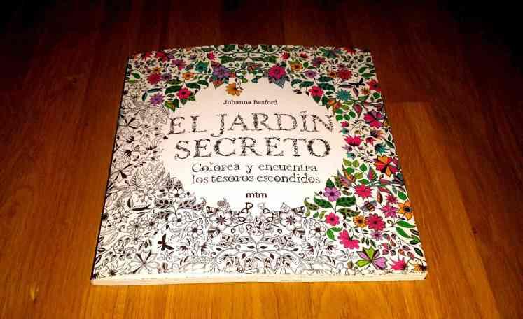 El jardín Secreto. Técnicas de relajación. Colorear