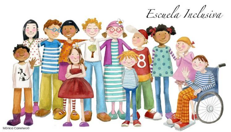 La inclusión escolar es siempre beneficiosa. Debemos aprender de todos.