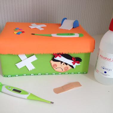 botiquín DIY infantil