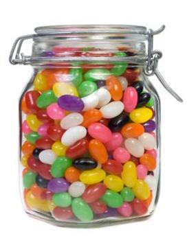 bote de caramelos