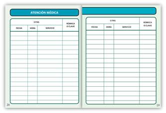 carnet de paciente infantil