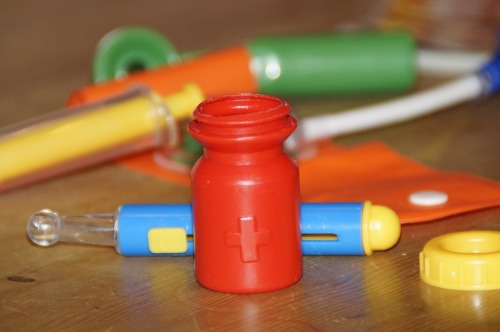 juguete de médico