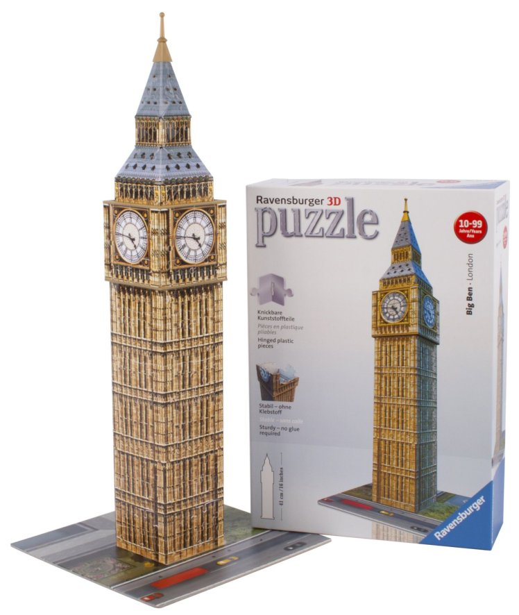 puzzle big ben 3 dimensiones