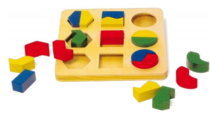 puzzle formas geométricas