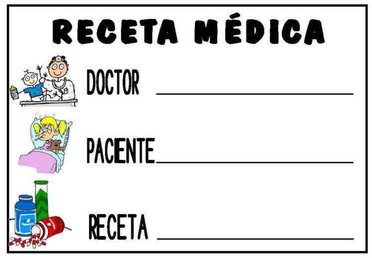 recetario médico infantil