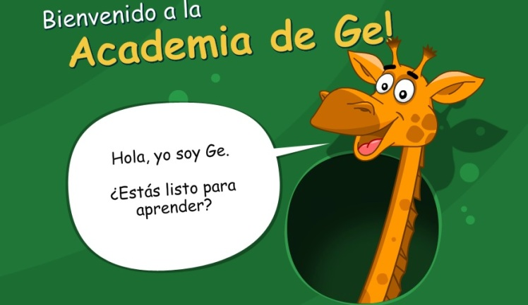 Saludo de Ge. Academia. Magic desktop