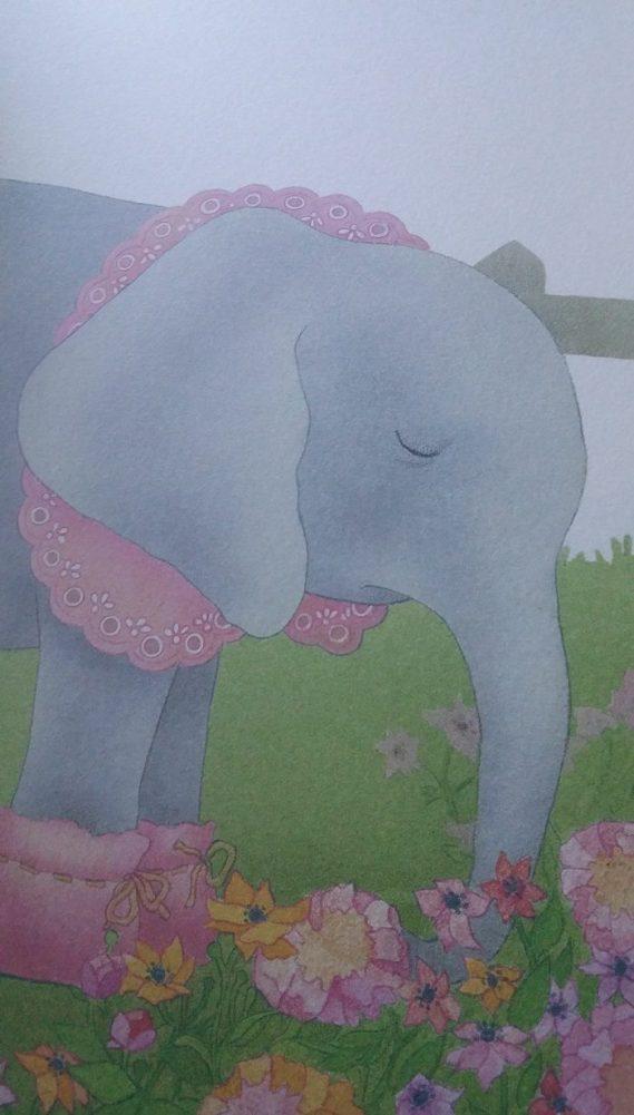 interior del libro rosa caramelo