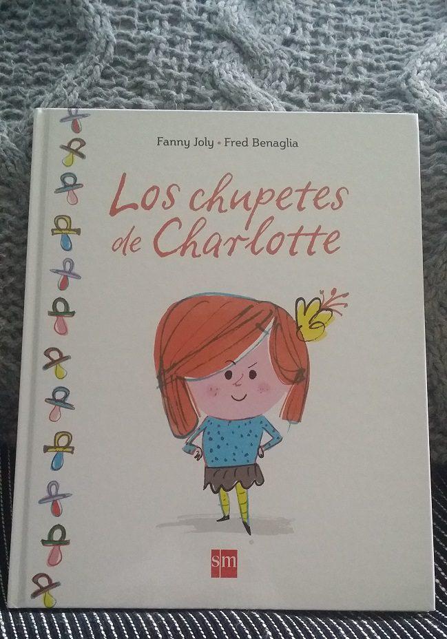 portada libro SM los chupetes de charlotte
