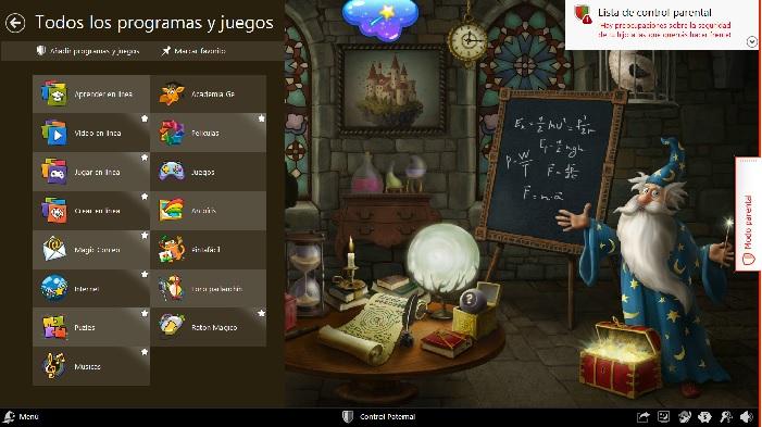 actividades Magic Desktop