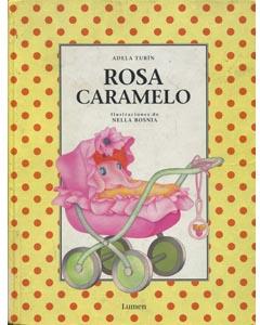 portada antigua de rosa caramelo