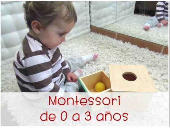 Montessori 0-3 años