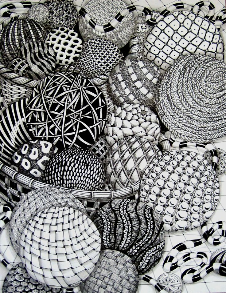 zentangle nivel avanzado