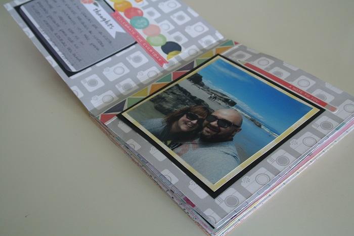 primera página mini álbum