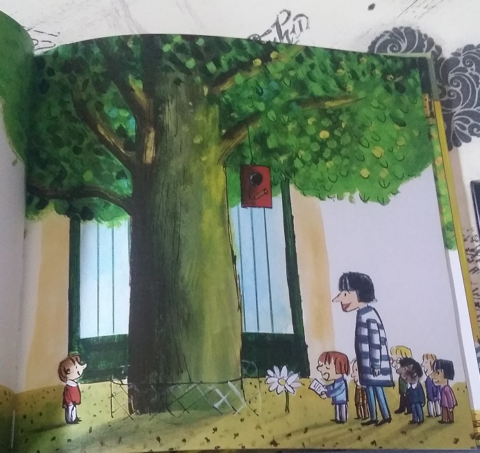 el árbol de la escuela