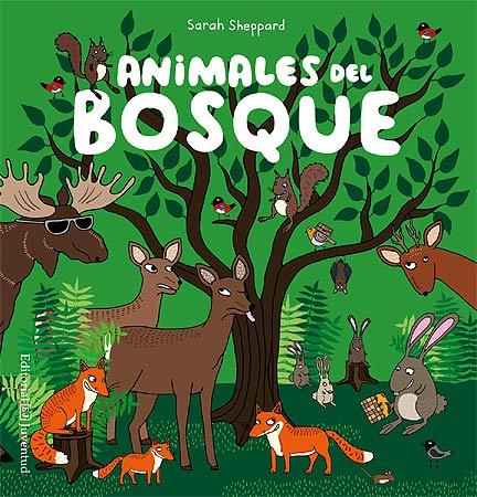 animales del bosque, editorial juventud