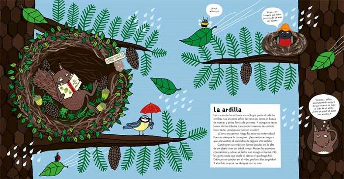 ANIMALES DEL BOSQUE. EDITORIAL JUVENTUD