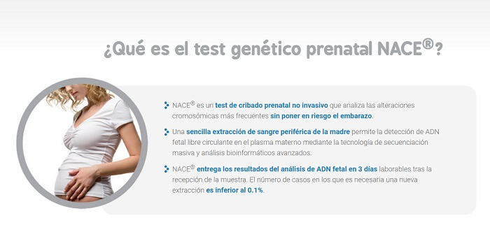 test genético prenatal NACE