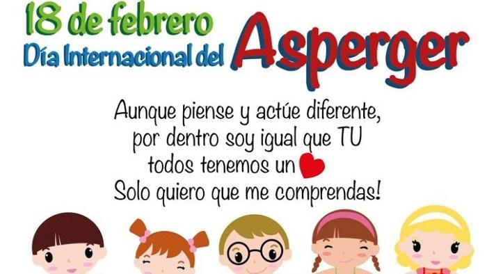 18 de febrero día internacional del síndrome de Asperger