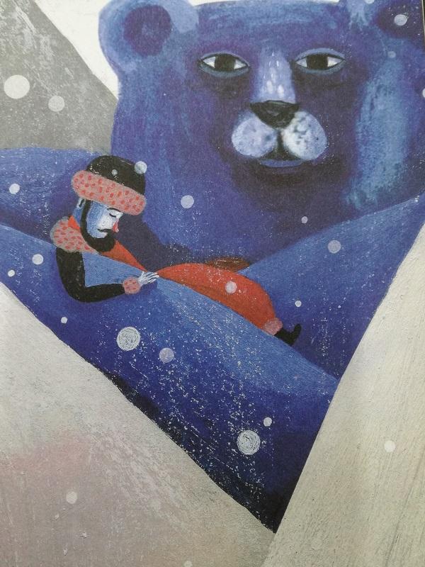 el oso azul del himalaya