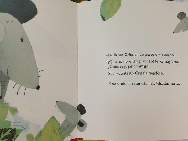 grisela. editorial kalandraka