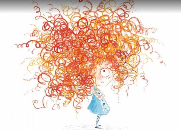 no quiero el cabello rizado. Editorial Picarona