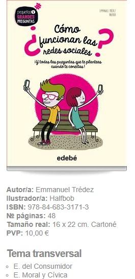 ¿como funcionan las redes sociales? Editorial Edebé