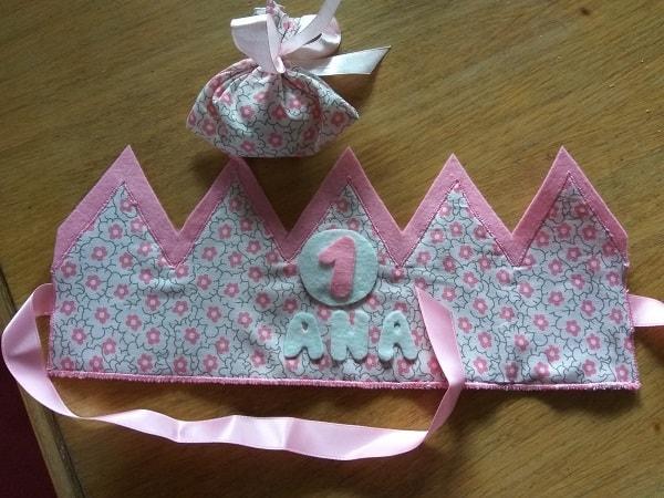 corona de cumpleaños diy