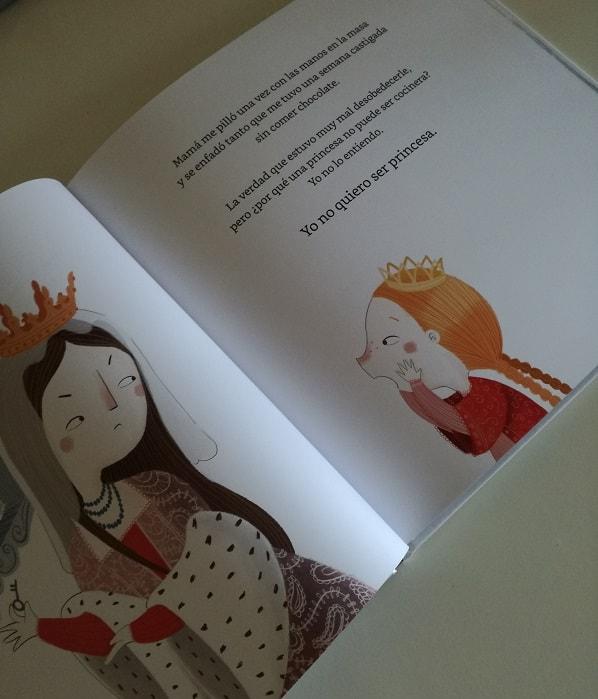 Yo no quiero ser princesa. Editorial UNO
