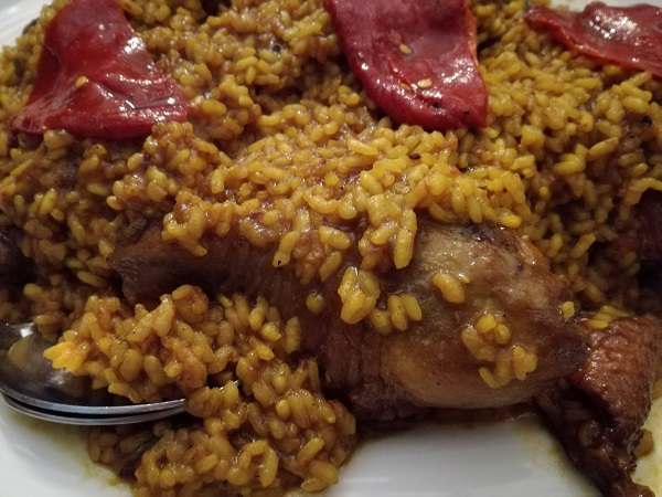arroz con pitu molin de mingo