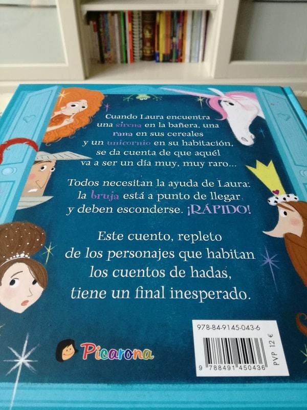 Laura y la bruja tramposa. Editorial Picarona.
